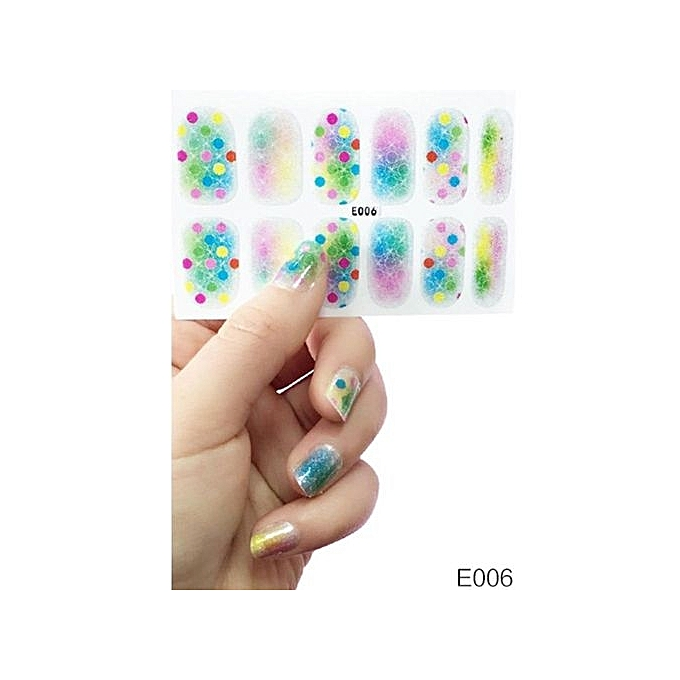 Buy Vakind 3D Nail Stickers Nail Art Decal Waterproof Kids Pregnant ...