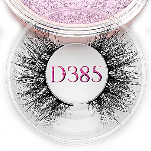 c2f740f1291 Generic Mikiwi D390 Mink Eyelashes 3D Mink Lashes Thick HandMade Full Strip  Lashes Cruelty Free Luxury Makeup Dramatic Lashes(C 0.15mm)