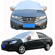 Car Cover Waterproof Outdoor Sun/Snow/Rain/Dust/UV protection Anti Scratch Silver