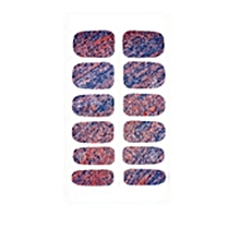 Hequeen New Style Polish Nail Art Decals Manicure Stickers Foils Self Adhesive Wraps