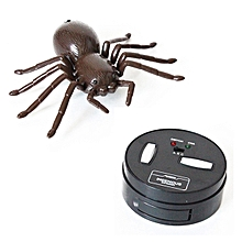 Infrared Electric RC Spider Simulation Remote Control Tricky Spider Toy-Black