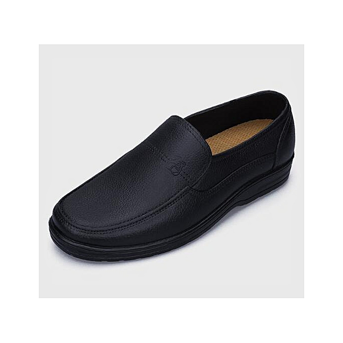c706648154af ... Men Work Shoes Restaurant Chef Anti-Slip Waterproof Shoes Cook Comfy  Loafers ...