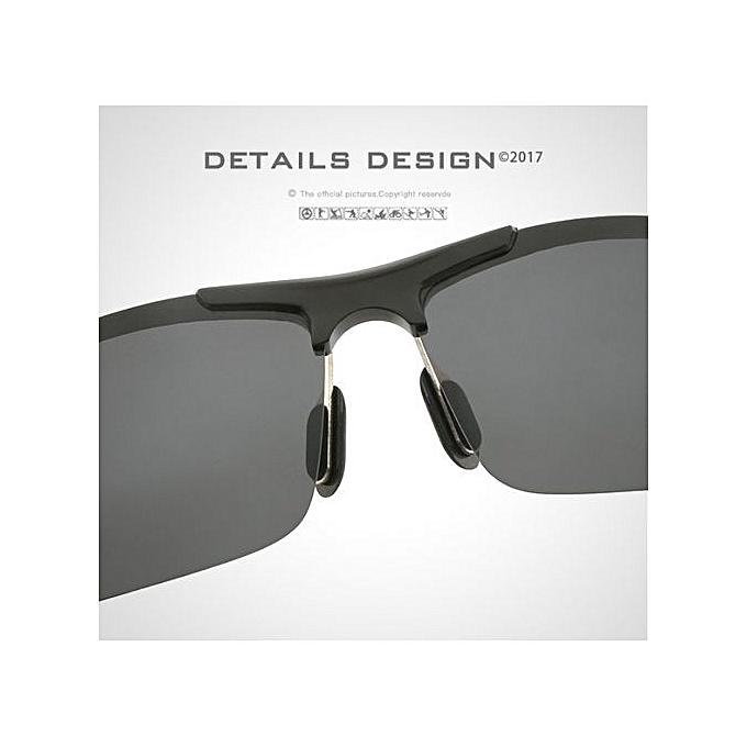 ca3d36fba55 ... Refined Men Polarized Sunglasses Coating Mirror Sports Goggles Alloy  Frame Eyewear Retro Oculos De Sol With ...