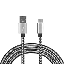 USB Cable Micro  Cable Mobile Phone Quick Reversible Charging USB Cables For HTC Red 1m