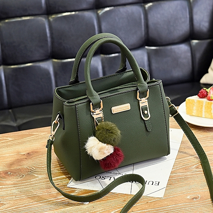 e4eb9b997ec GreenThe female of the bag 2018 new style of current women's bag handbag  Chien of Han Ban about 100 take inclined Ku to wrap shoulder bag packet in  ...