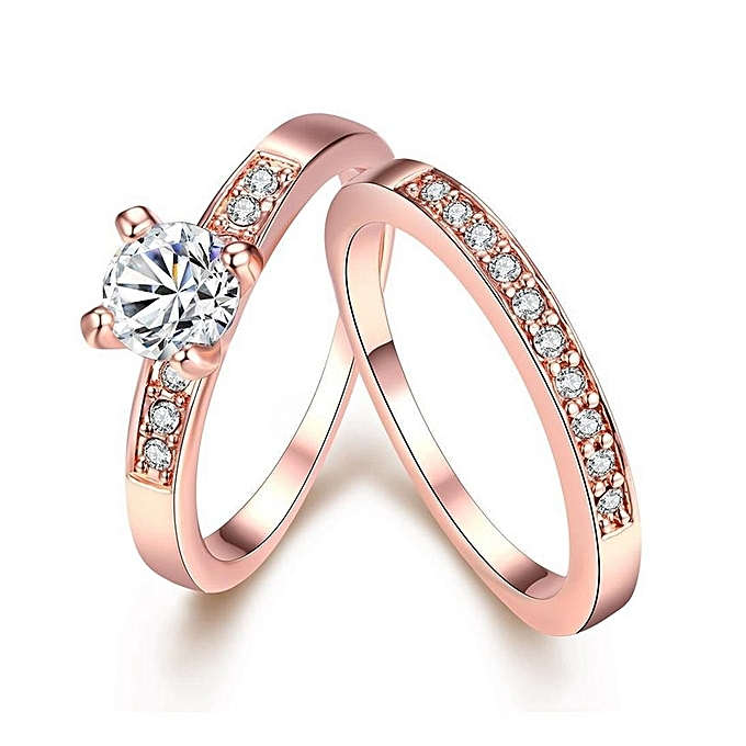 Buy Fashion Fashion Jewelry Gold Plated Ring Rose Gold Best