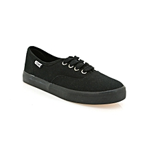 Black Ladies' Tomy Takkies