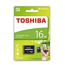 Micro SD Card - 16GB Standard - Black
