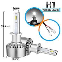Pair X6 Car 60W LED Headlight H1 Kit Lamp Bulbs Waterproof