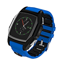 Smart Watch Luxury Wristwatch GT68 Waterproof Dustproof With Heart Rate Measure Dial SMS Remind Bluetooth Android Phone - Intl (Color:Blue)