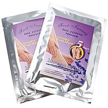 2 Pairs Lavender Feet Peel Mask Exfoliating Calluses Remover Dead Skin Foot