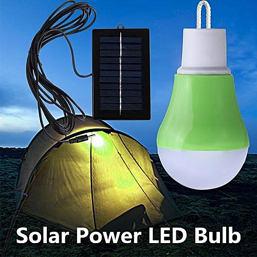 Camping Solar Powered Outdoor Bulb 12 Rechargeable Lamp Tent Portable Led Light 3Lqc45SRAj