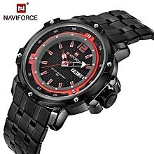 new top brand luxury men full steel military watches mens quartz sports watch waterproof clock relogio masculino