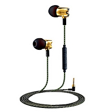 JBMMJ S800 3.5mm Wired Earphone Headset With Microphone For iPhone iPad Samsung MP3 PC