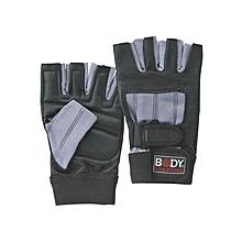 Fitness Glove Spandex/Leather- Bw-86- L