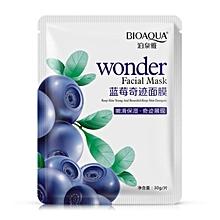 Blueberry Silk Mask moisturizing anti oil anti acne cosmetics