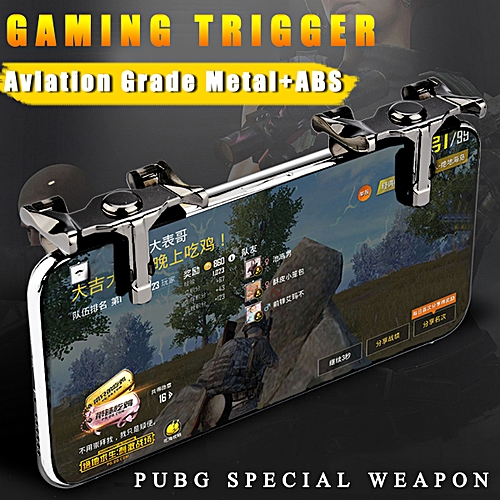 1Pair For PUBG Mobile Phone Titanium Switch Gaming Trigger Shooter  Controller Special Weapon