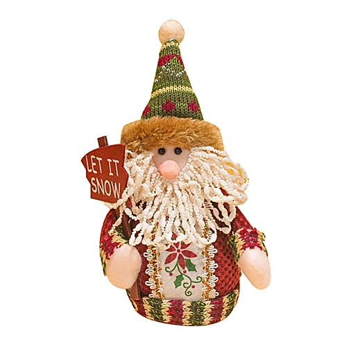 Standing Santa Claus Snowman Reindeer Ornaments For Christmas Home Decor, Christmas Gift Cute Doll Toy