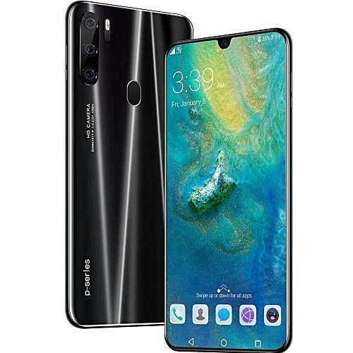 c3d2ccf1d35 Generic 6.3 〞Smartphone Face/Fingerprint Unlock RAM6GB+ROM128GB Android 10  Core-black
