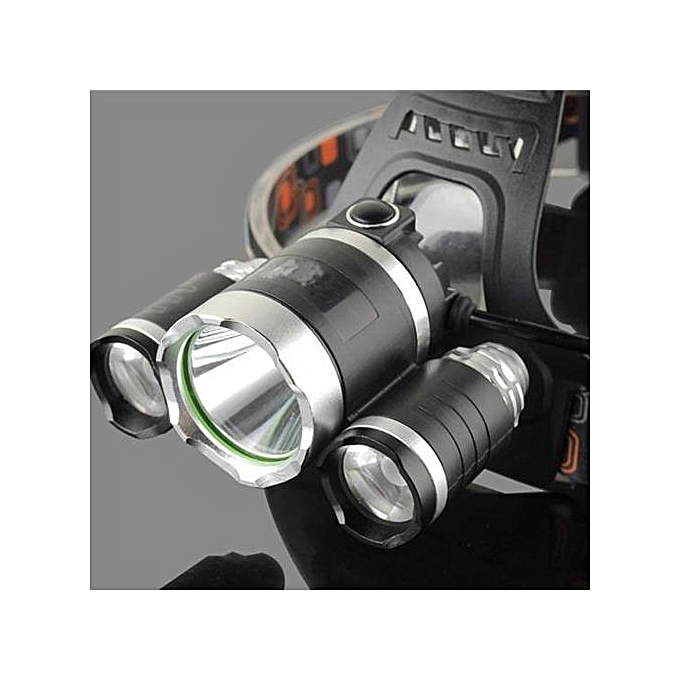 Portable CREE XML T6 LED Headlight Torch 4 Mode Lamp Waterproof Hiking