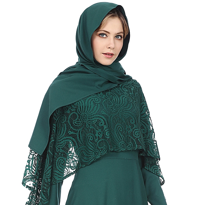 ab4f2483c Muslim Women Traditional Retro Pure Color Turban Hat Head Scarf Wrap Summer