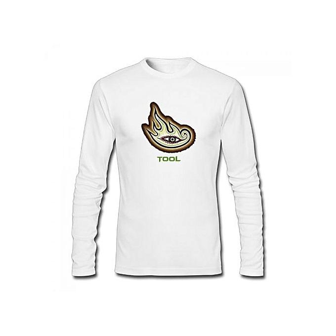 3beea30c Generic Tool Band Men's Cotton Long Sleeve T-shirt White @ Best ...