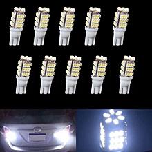 10 X T10 Cool White Car 42-SMD Backup Reversing LED Light Bulbs 921 912 906 168 W5W