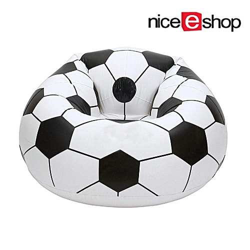 Inflatable Football Sofa Cool Design Bean Bag High Quality Eco Friendly Pvc For S And