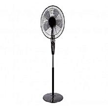 GF9429 Stand Fan - 5 Leafed -16 Inch - Black .