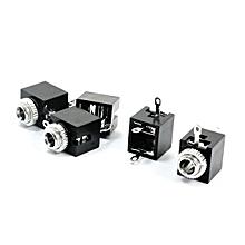 5pcs PCB Panel Mount 3.5mm Female Earphone Jack Socket Connector