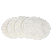 6Pcs/set Three Layers Soft Breathable Washable Anti Overflow Mama Breastfeeding Nursing Pads