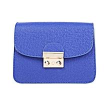 Women Shoulder Messenger Handbag - Blue