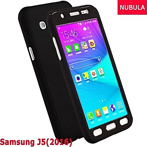 the best attitude 516e2 b2832 Phone Case For Samsung Galaxy J5 2016 / J510 360 Degree Real Full Body  Ultra-thin Hard Slim PC Protective Case Cover With Tempered Glass 304230