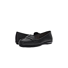 A2 Stitch and Turn Black Shoe