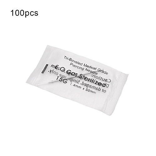Buy Generic 100pcsbox Disposable Piercing Needle Stainless Steel