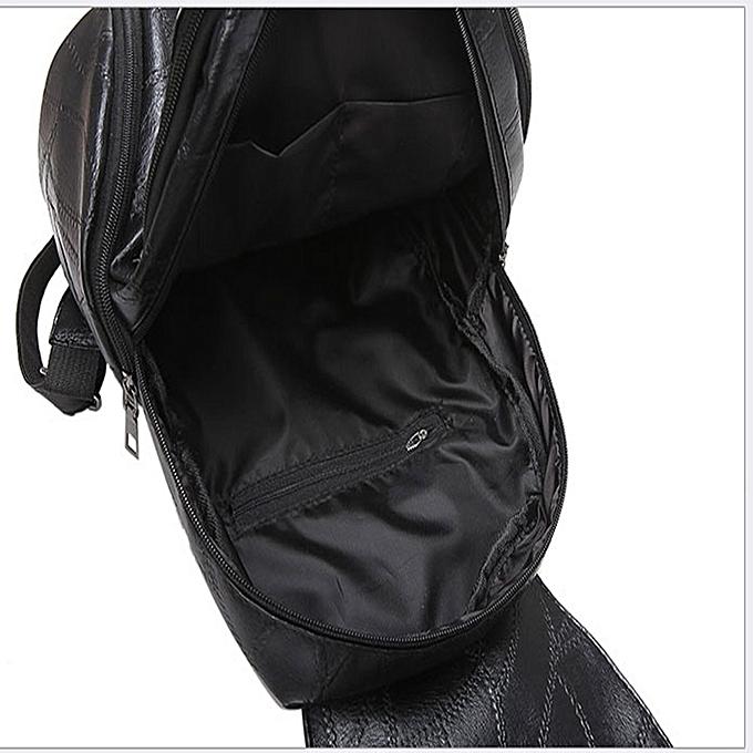 Buy Fashion Jiuhap Store Fashion Women Leather Backpacks Waterproof
