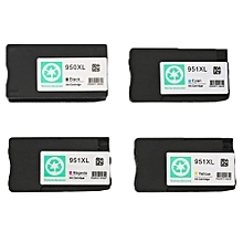 Non-OEM 950XL 951XL Ink Cartridge Set For HP Jet Pro 8100 8600 8610 office