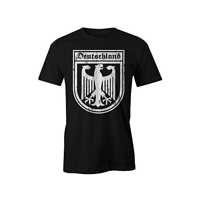 e9b7f4d0d Generic German Crest Germany Deutschland T-Shirt Men Flag Badge Tee ...