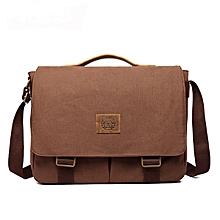 15 inches Laptop Bag Men Canvas Minimalist Crossbody Bag Handbag Leisure Business Shoulder bag