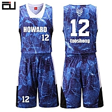 New Customized Brand Men  039 s Basketball Team Sport Jersey Uniform-Dark  Blue d0aa36314
