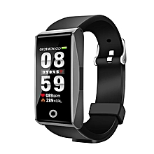 """Bakeey Mate 1 0.96"""" Color Screen Blood Oxygen Pressure Heart Rate Music Camera Control Smart Watch"""