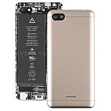 Back Cover with Side Keys for Xiaomi Redmi 6A(Gold)