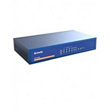TEF1008P - 8-Port - 10/100Mbps Desktop Switch With 4-Port POE - Blue
