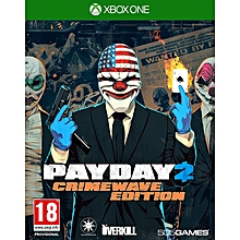 XBOX 1 Game Payday 2