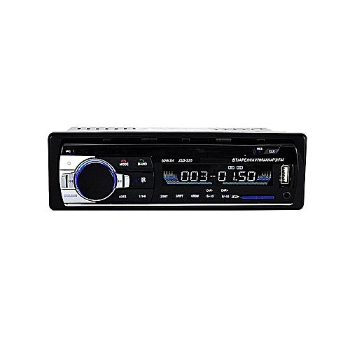 12V Car Radio Bluetooth Handsfree Support USB/SD Stereo FM Radio SD Card/AUX in/Mic MP3 Audio Player