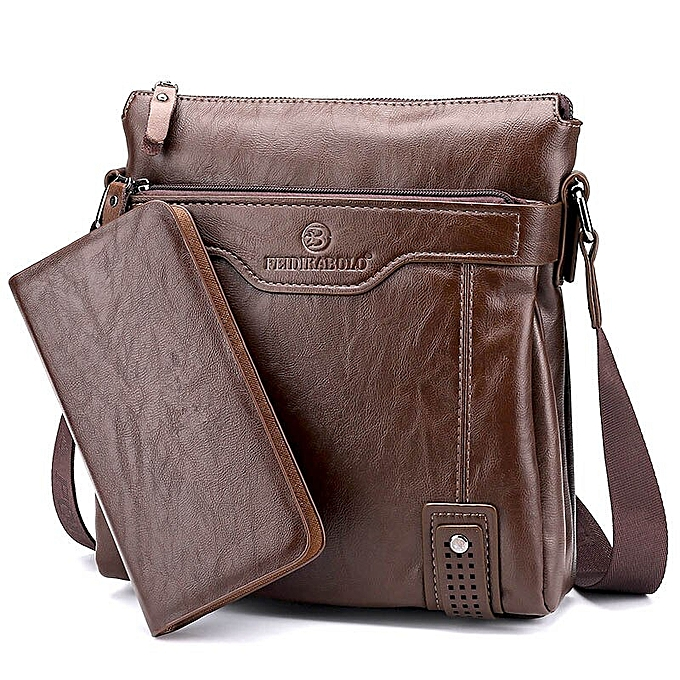 d4ecfb0f3 2019 New Arrival Hot Selling business casual leather man bag Fashion brown  handbags and purses Casual