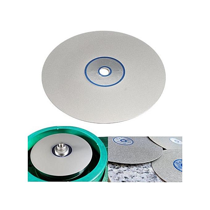6 Inch Grit 600 Diamond Coated Flat Lap Wheel Lapidary Grinding Polishing  Disc