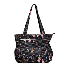 Waterproof Multi Color Print Diaper Bag With A Pouch