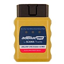 AdblueOBD2 For Scania Trucks Diagnostic Tool Scanner OBD2 Heavy Duty Diesel Scan Tool -