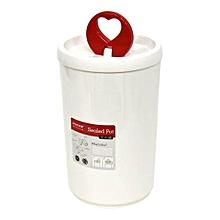 D556 - Sealed Pot - White
